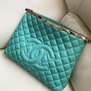 Handbags - Leather clutch